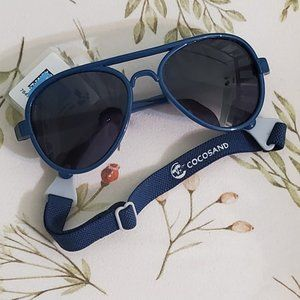 5for$20 Baby Aviator Sunglasses with Strap for Baby or Toddler